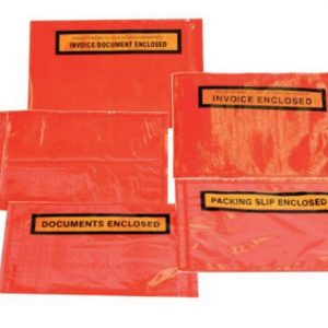 Red Back Adhesive Envelopes