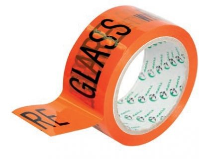 GLASS WITH CARE PRINTED TAPE-TAPE 16