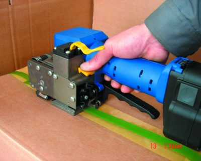 Strapping Tools – Battery Operated PP/Pet Strapping Sealing 12.7-19mm Blue/Black 12.11