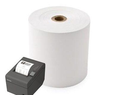 Thermal Receipt Roll 80mm X 80M 11.5mm Core 30 Rolls/Box-L18562