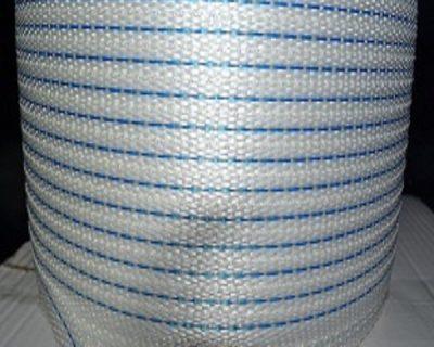 BLUE POLYPROPYLENE HAND STRAP IN DISPENSER BOX 15MM X 1000M 1 ROLL-11.03-15