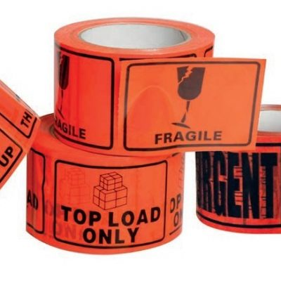 PERFORATED TAPE LABELS / RIP-A-LABELS / DANGEROUS GOODS LABELS