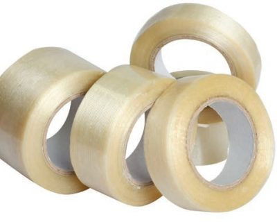 CLEAR PACKAGING TAPE WITH ACRYLIC GLUE 72MMx75M-TAPE1-72