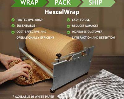 HEXCELWRAP BROWN KRAFT 300MM X425M 1 ROLL-Hexcel B