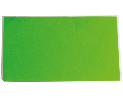 Fluoro Labels-Plain Fluro Green 130Mmx75Mm 500/Box-L008