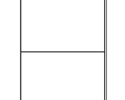 A4 PLAIN LASER SHEETS PERM 2 LABELS/SHEET 100 SHEETS/BOX-L17453