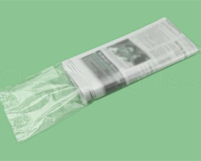 Newspaper Plastic Bags HDPE 150x500mm 15Um Clear 6000 Pieces-15.01
