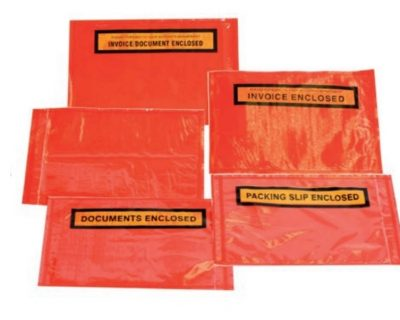 RED BACKED ADHESIVE ENVELOPES
