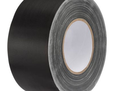 Cloth Tape (Black) 48mm x 25M 260Um-10.305 BLACK
