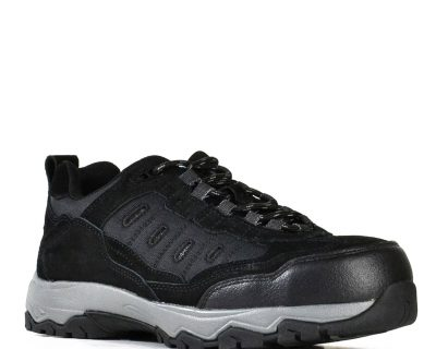 Black Suede Lace Up Safety Jogger – Fury 851-62687