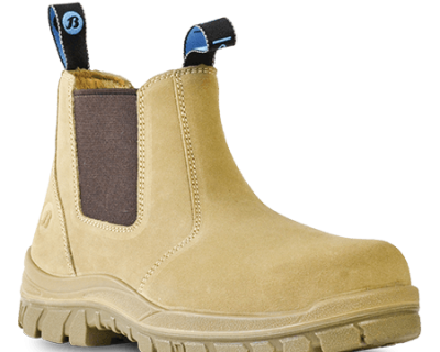 Wheat Suede Slip On Safety Boot – Mercury 703-80514