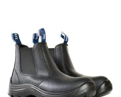 Black Rambler Slip On Safety Boot – Jobmate 805-00605