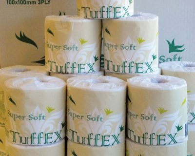 Toilet Paper 3 Ply 120Gsm 250 Sheets, 48 Rolls/Ctn-19.30