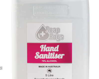 70% Alcohol Gel Instant Hand Sanitiser with Fragrance 5L-30210