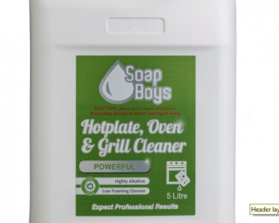 Hotplate, Oven & Grill Cleaner 5L-50900