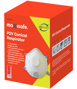 P2 Conical Respirator-Disposable with Valve Box of 10-31.03