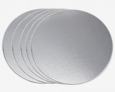 Round- Silver bases