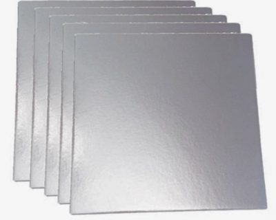 Square- Silver bases