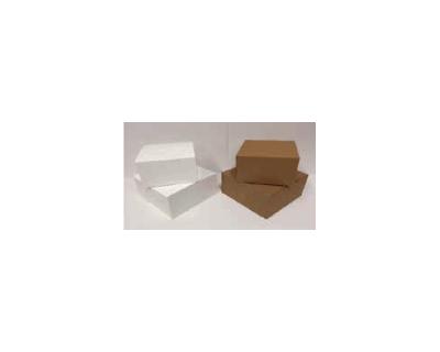Brown -Pop Up Cake Box 12″ BROWN 305 x 305 x142mm 500 UM 25 Per Carton -WNCXPB12