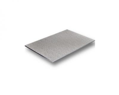 Cake Base – Rectangle/Slabs Silver 435 x 735 x 2.8mm 10 Per Pack-WNCBSIL-FULLSLAB
