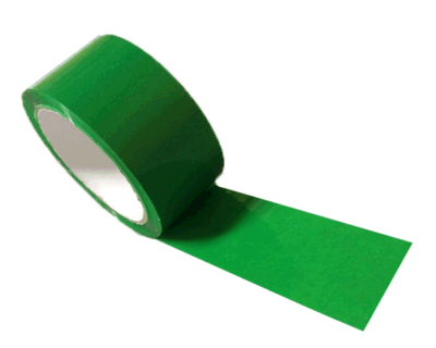 GREEN ADHESIVE PACKAGING TAPE-TAPE 20